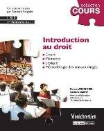 INTRODUCTION AU DROIT   3ED  COURS
